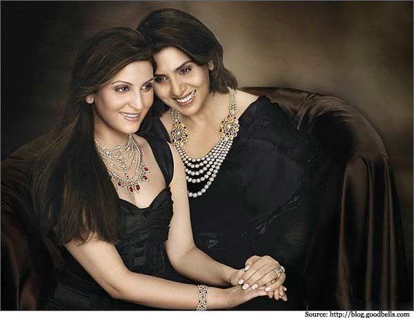 Neetu Singh With Her Daughter Ridhima Kapoor Sahani In Notand Jewellery Commercial Neetukapoor