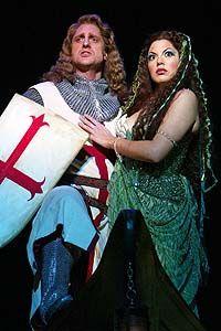 Sara Ramirez & Christopher Sieber from Spamalot | Broadway