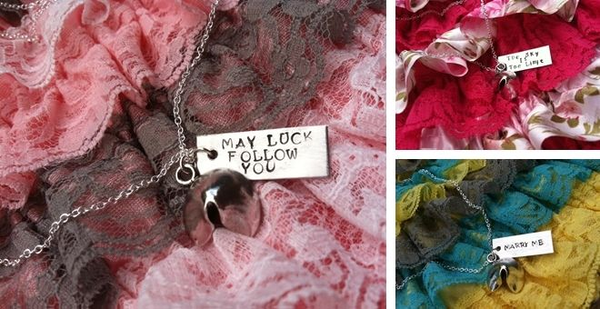 Make Your Own Luck Custom Fortune Cookie Necklaces!