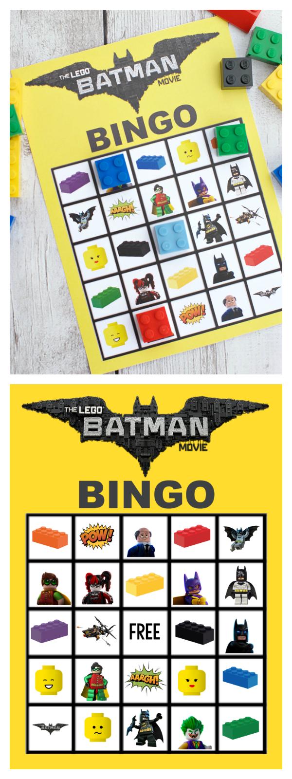 Lego Batman Bingo Game For The Littlies Pinterest Spiele Kindergeburtstag Spiele Und Geburtstag