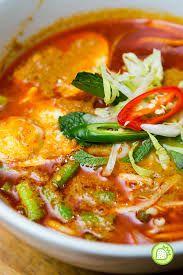 Malay-style curry laksa