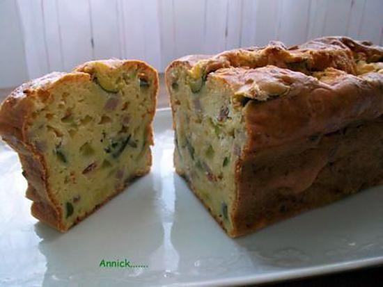 Cake Courgette Chevre Et Lardons Recette Cake Courgette Chevre