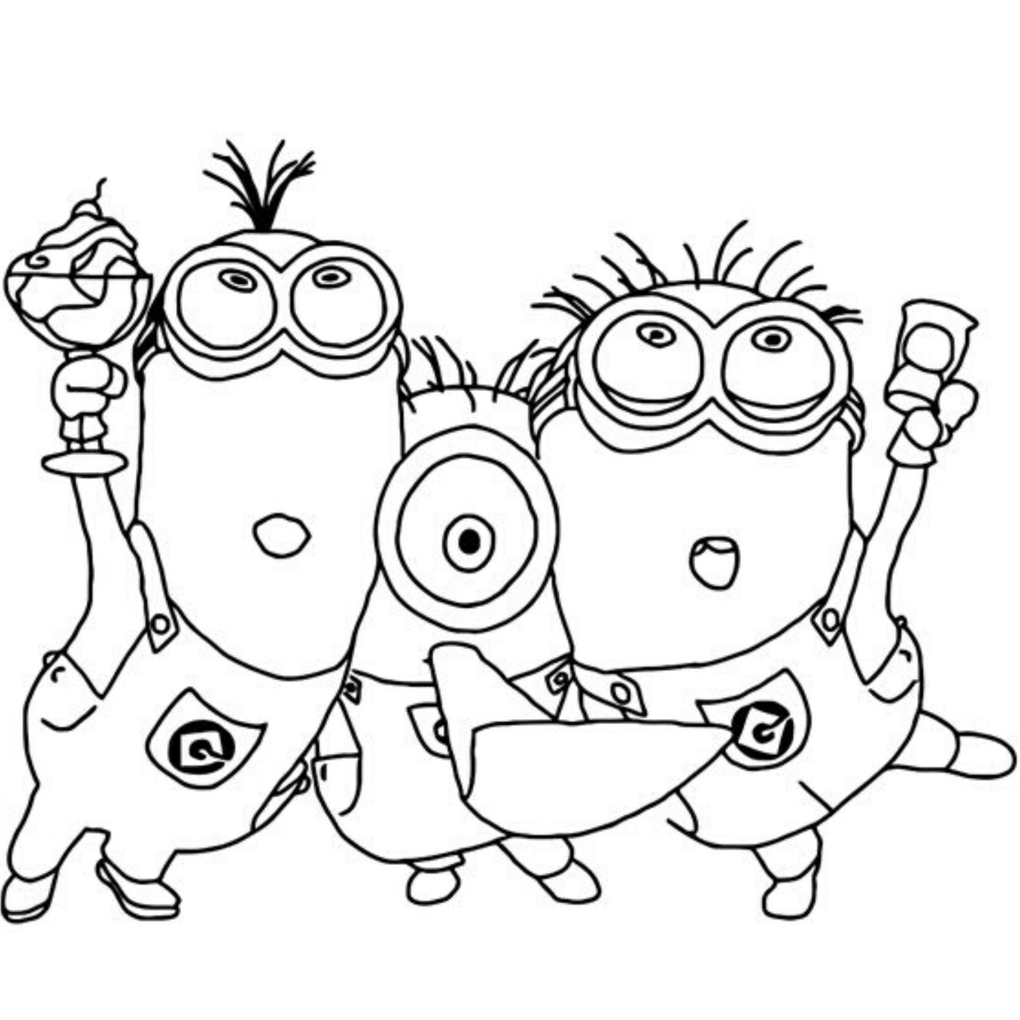 Pin By Olga Nelga On Trolli Minony Moana Monstry Coloring Pages Minion Coloring Pages Princess Coloring Pages