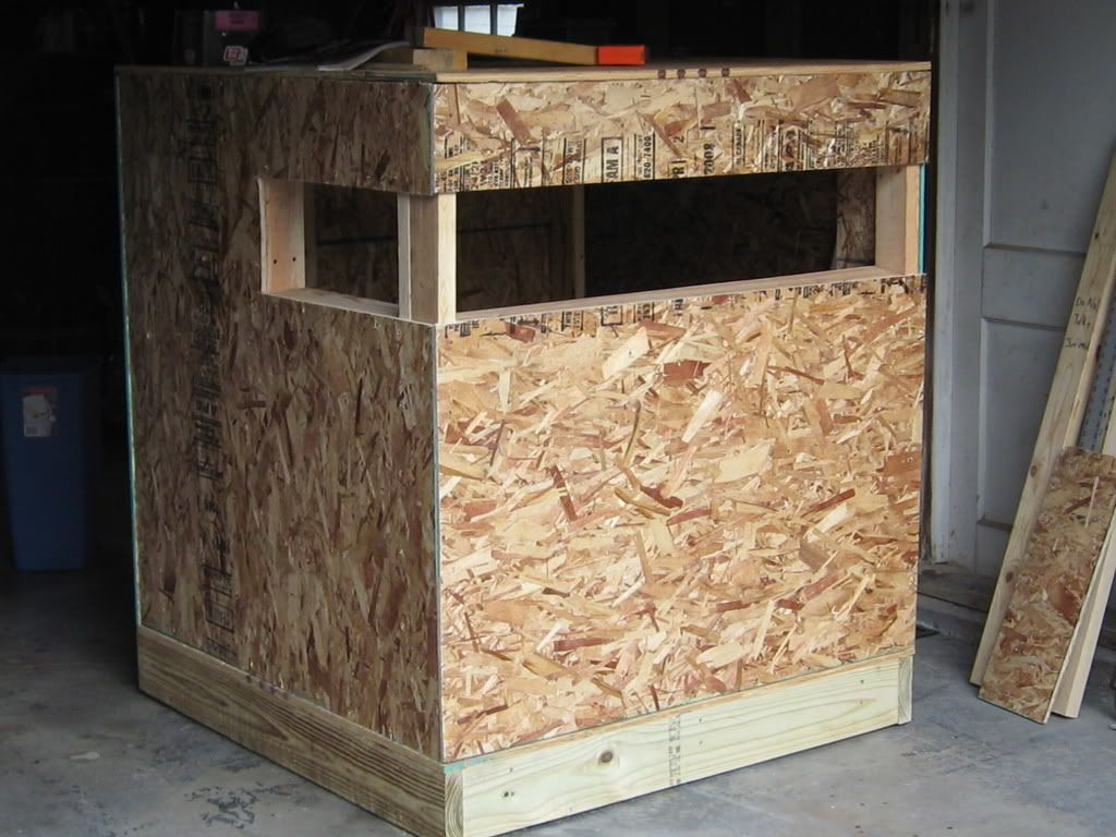 2 person deer blind plans deer stand plans 4x6 http www for Building deer blind windows