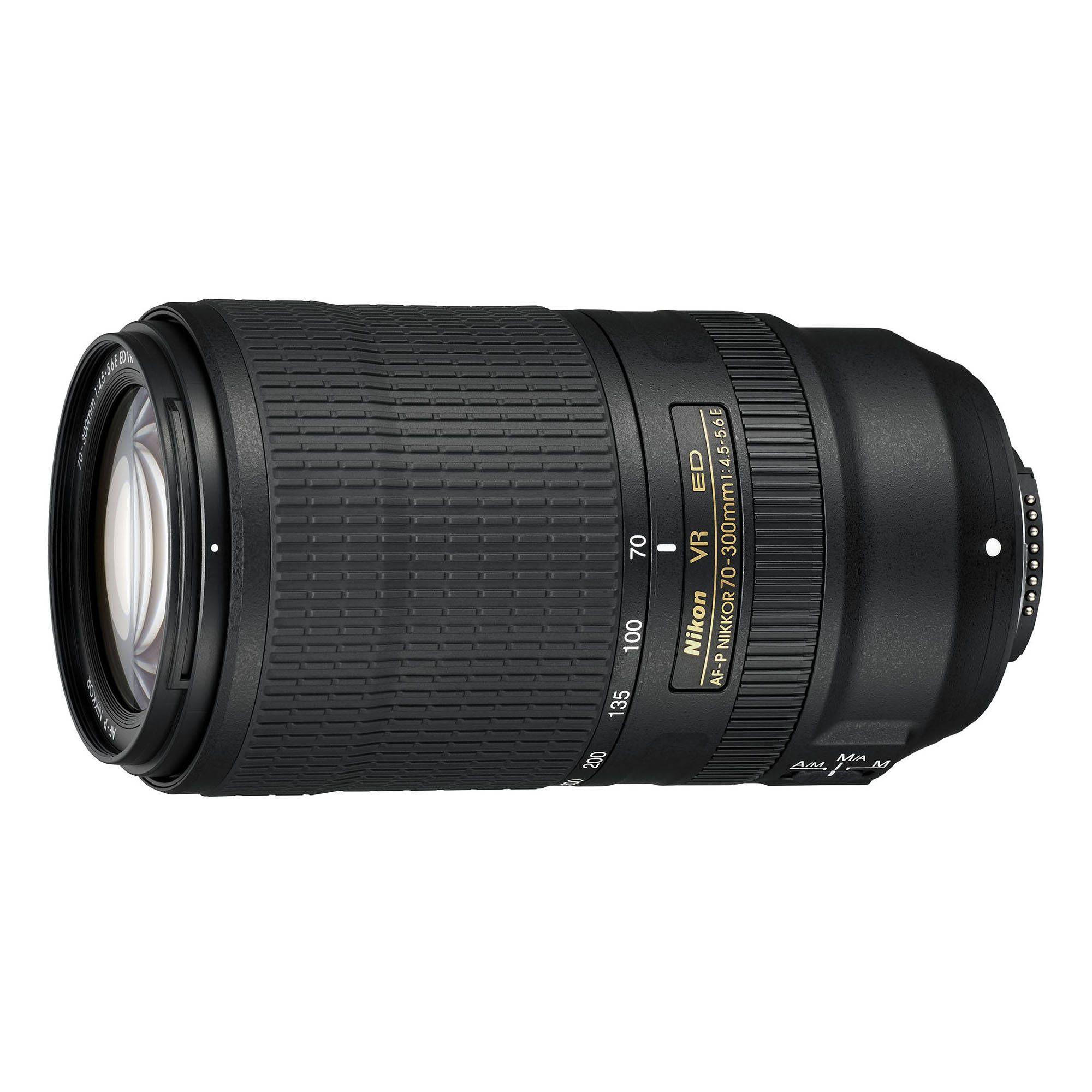 Nikon Af P Nikkor 70 300mm F 4 5 5 6e Ed Vr Lens Vr Lens Nikon Camera Lens