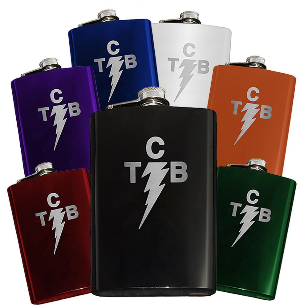 Classic lightning bolt taking care of business tcb flask engraved classic lightning bolt taking care of business tcb flask engraved 8oz elvis buycottarizona