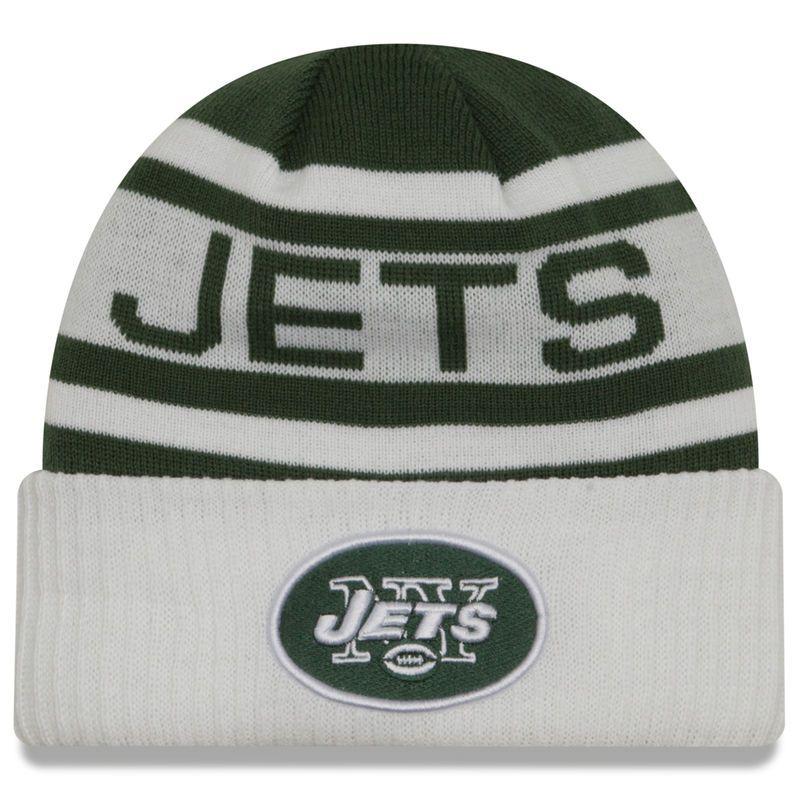 96ce5176 New York Jets New Era Biggest Fan 2.0 Cuffed Knit Hat - Green/White ...
