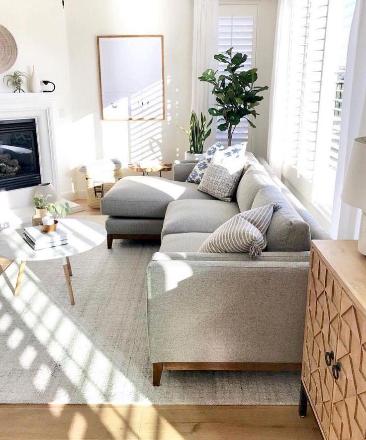 """Kathleen Field • Utah-Designerin auf Instagram: """"Sie wissen, wie sehr ich natürliches Licht in einem Raum liebe (wir haben unser Zuhause um die Aussicht und das Licht herum gebaut!) ... - Anastasia Pesterean #livingroomideas"""