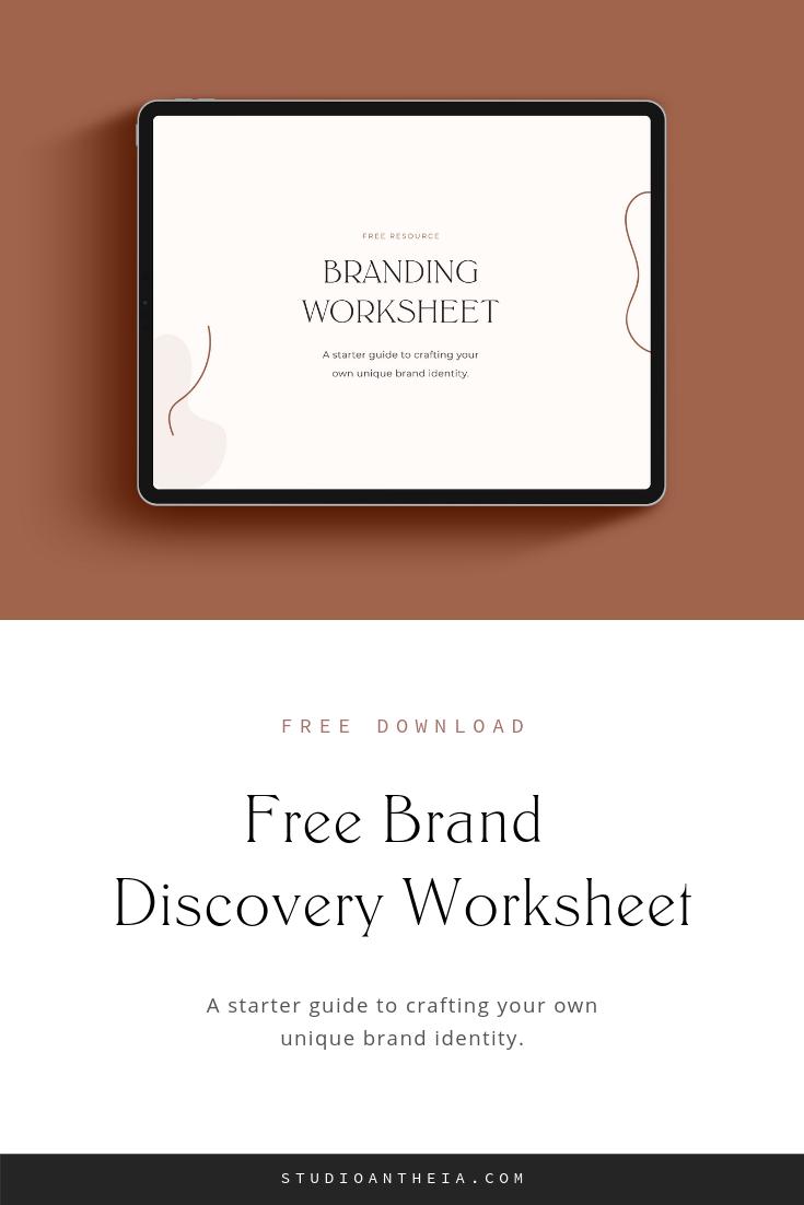 Free Branding Questionnaire Download Studio Antheia Business Branding Inspiration Branding Creative Business Marketing