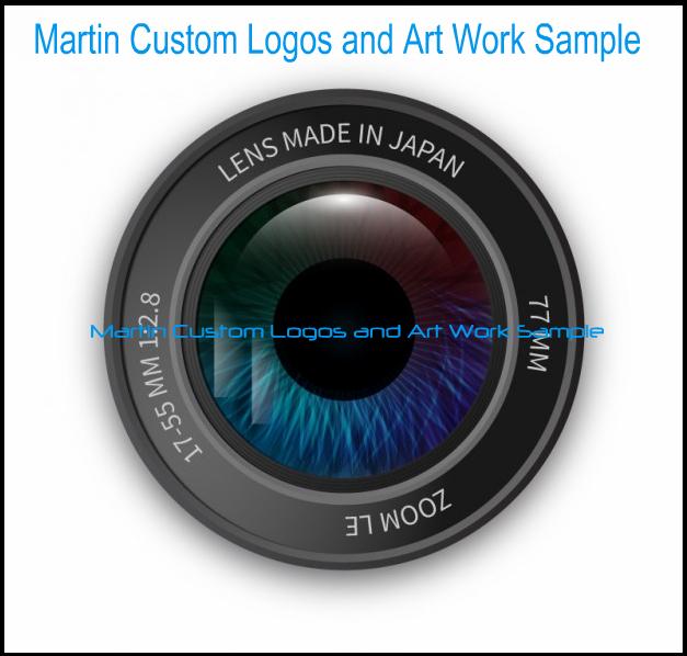 Martin Custom Logos and Art Work Sample Like Us On