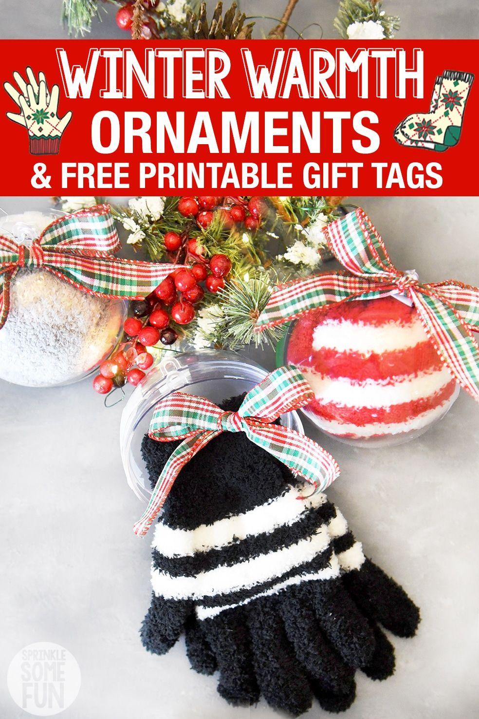 Winter Socks & Gloves Ornaments ⋆ DIY Frugal Christmas Gift ...