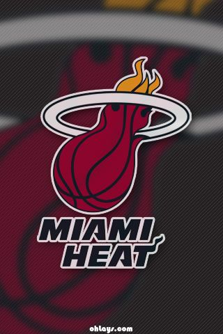 Miami Heat Iphone Wallpaper Miami Heat Miami Heat Logo Basketball Iphone Wallpaper