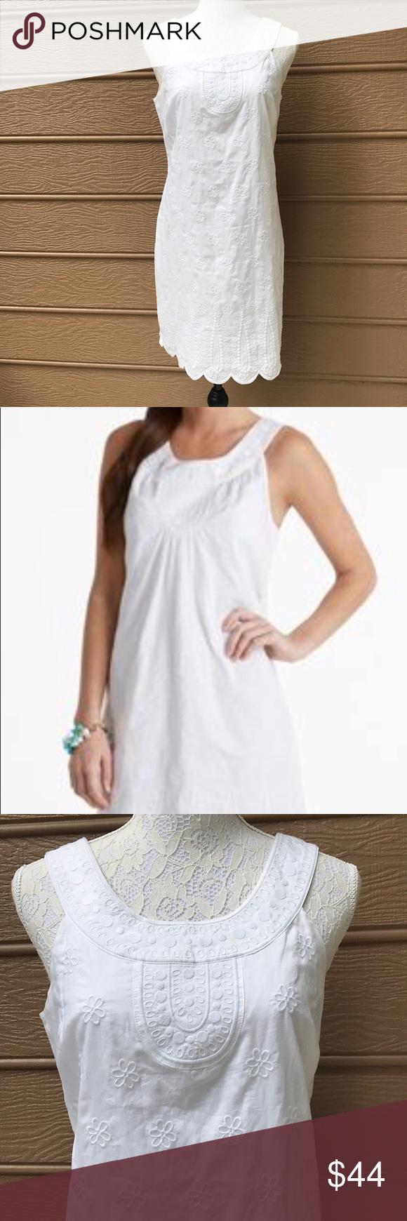 Vineyard Vines White Sleeveless Shift Dress Size 4 Sleeveless Shift Dress Dresses Clothes Design [ 1740 x 580 Pixel ]