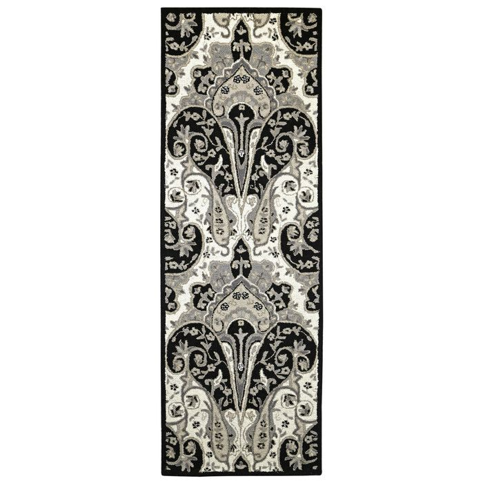 Look what I found on Wayfair! | Black and grey rugs, Wool ...