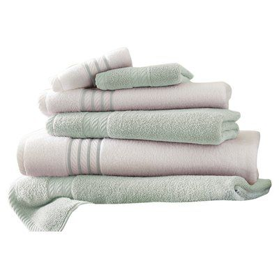 The Twillery Co Barney 6 Piece 100 Cotton Towel Set Egyptian