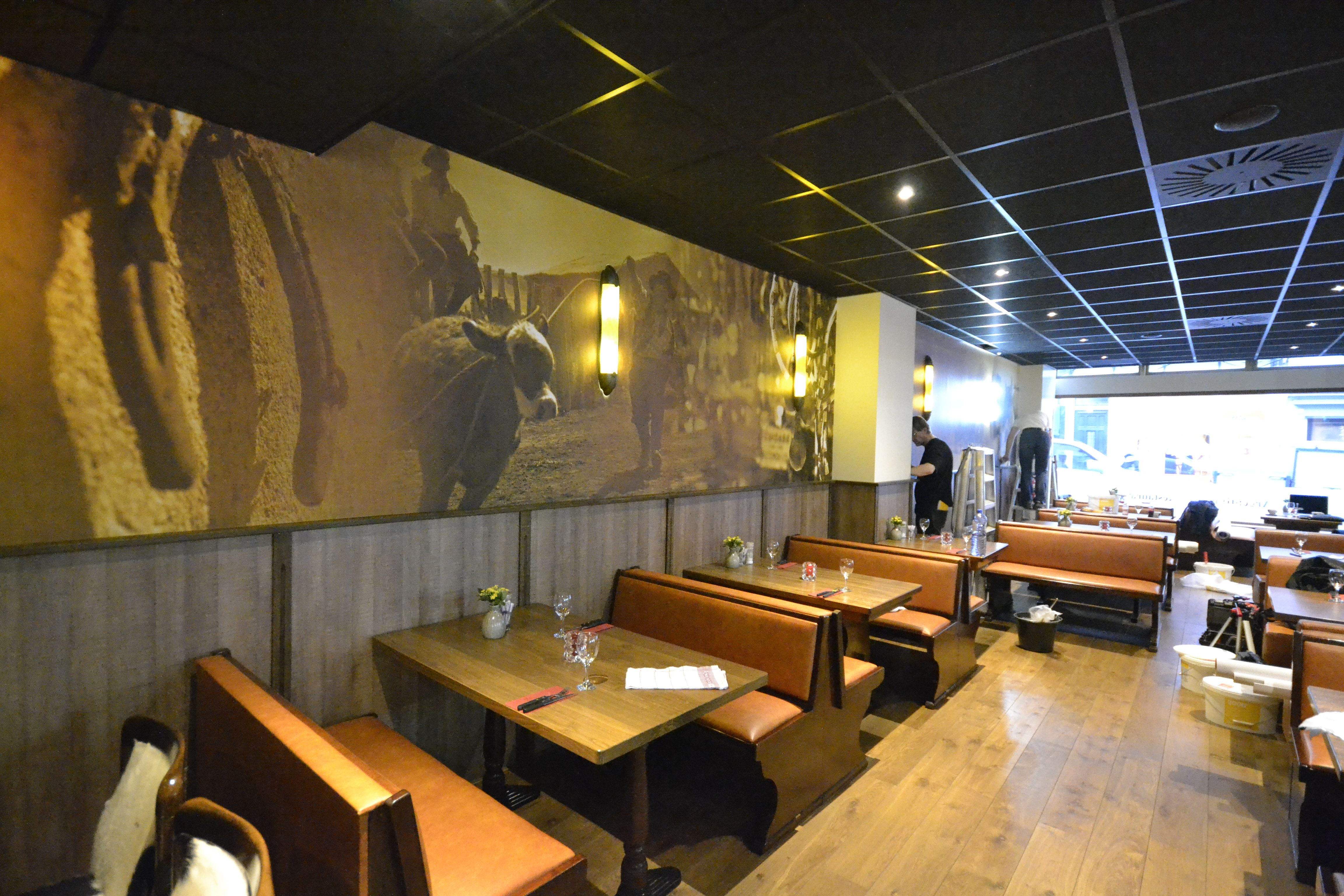Art2wall #restaurant #interior #interieur #decoration #decoratie