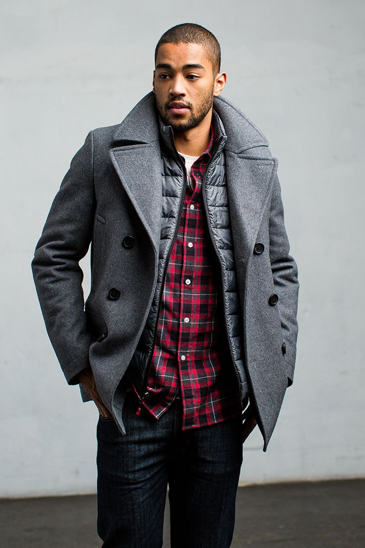beautiful and charming cozy fresh color brilliancy The JT Peacoat: A trim and tailored fit gives this classic ...
