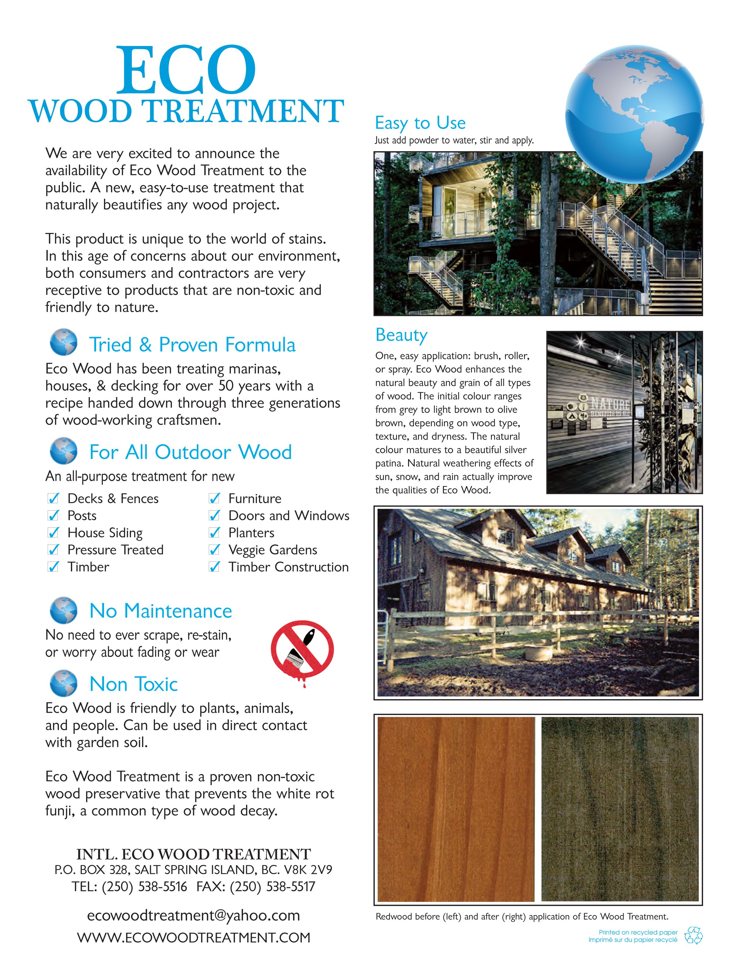 ecowoodtreatment com | Home It! in 2019 | Grey wood, Wood