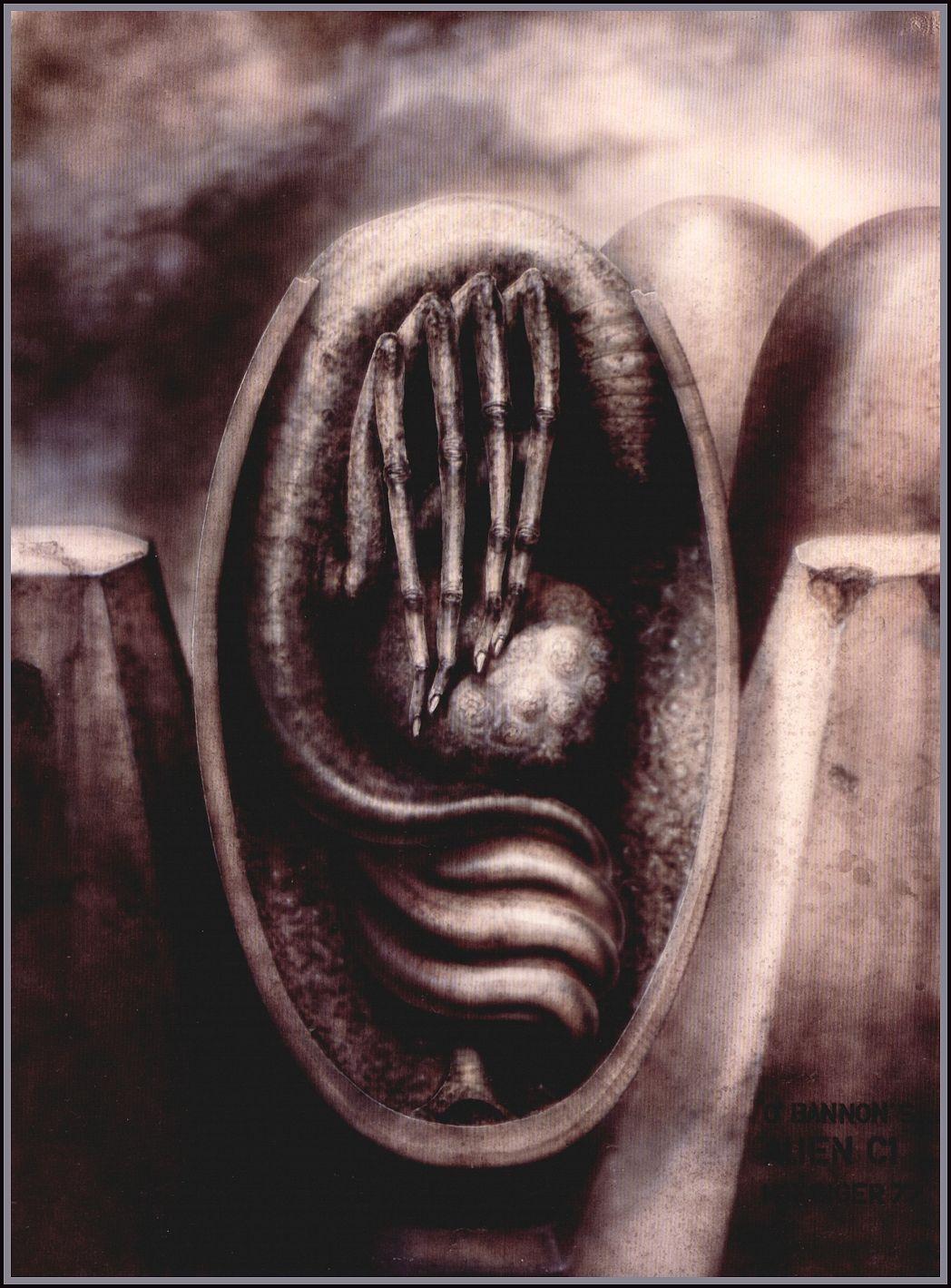 H. R. Giger Alien film design