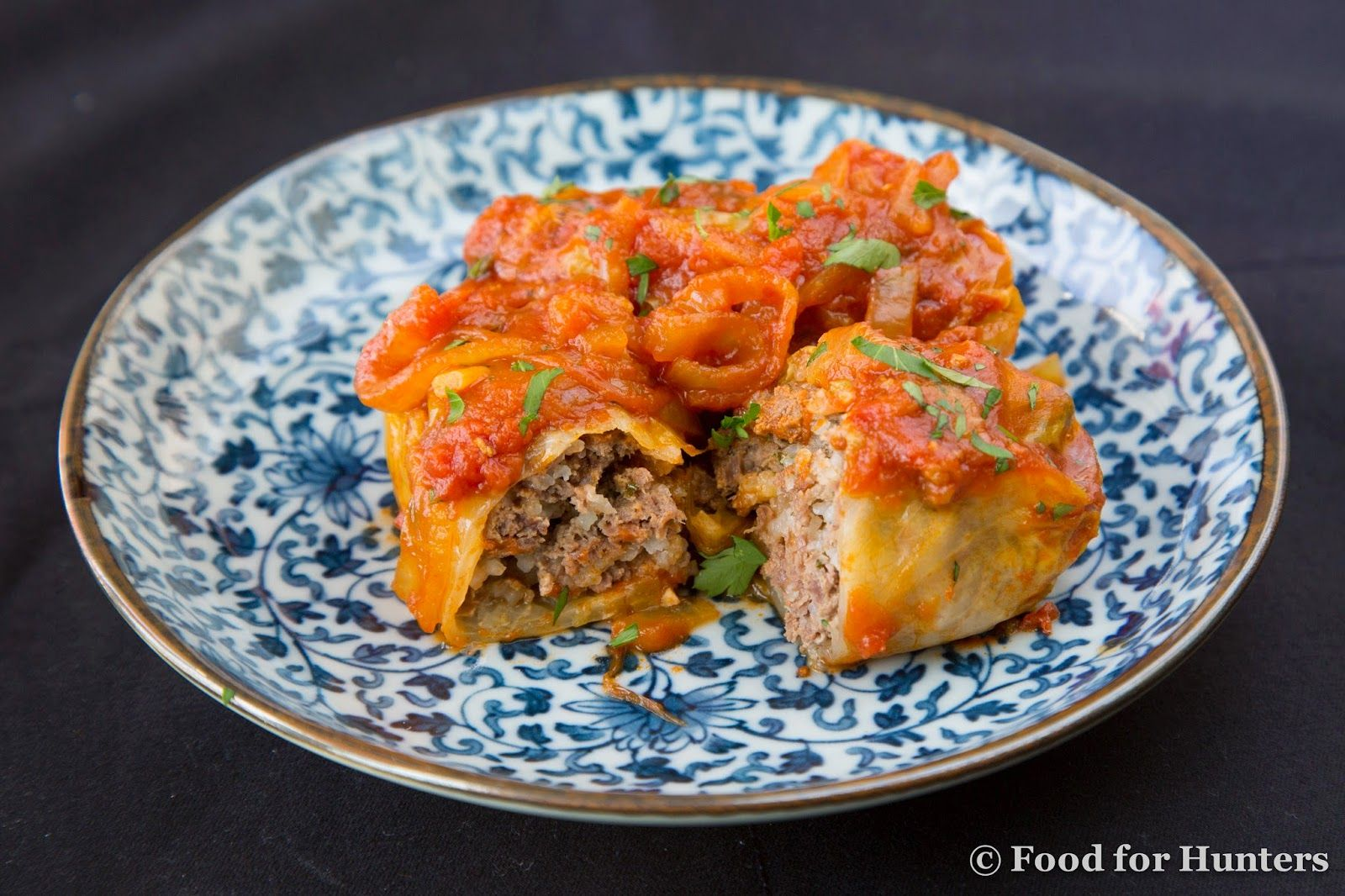 Food for Hunters: Venison Cabbage Rolls