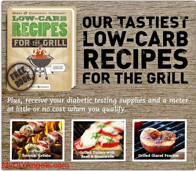 Free Diabetic BBQ Recipe Cookbook!   MY DIY ANGELS, DIY and Extreme Couponers