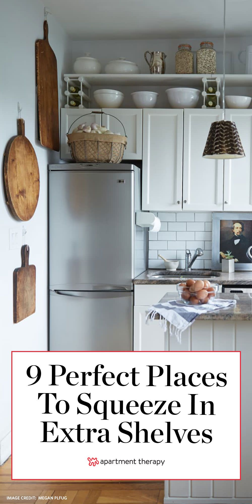 9 perfect places to squeeze in some extra shelves in 2020