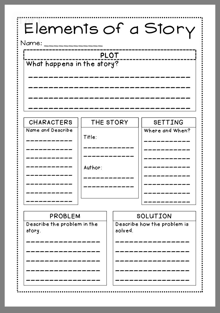Pin By Christine Rafanello On School Story Elements Worksheet Story Elements Story Elements Chart