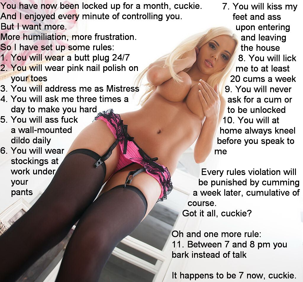 Lacht femdom slave instruction wouldn't mind