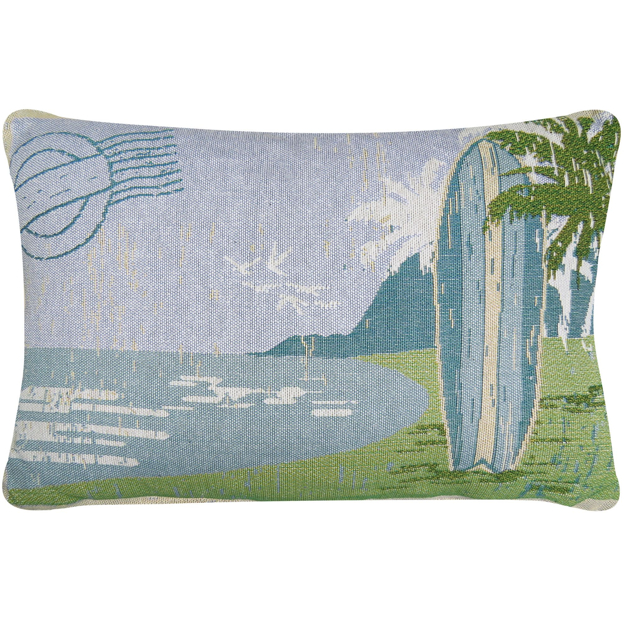 Surf board tapestry decorative lumbar pillow products pinterest
