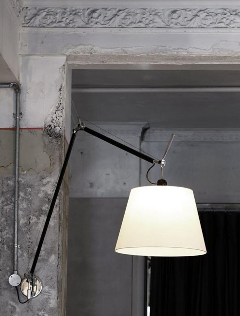 Tolomeo Mega Wall Lamp Interiordesign Wall Lamp Lamp Interior Lighting