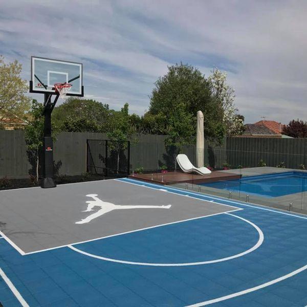 Zsfloor Pp Interlocking Sports Flooring Is Poratble Non Toxic Eco Friendly We Can Provide Custo Basketball Court Backyard Backyard Court Backyard Basketball