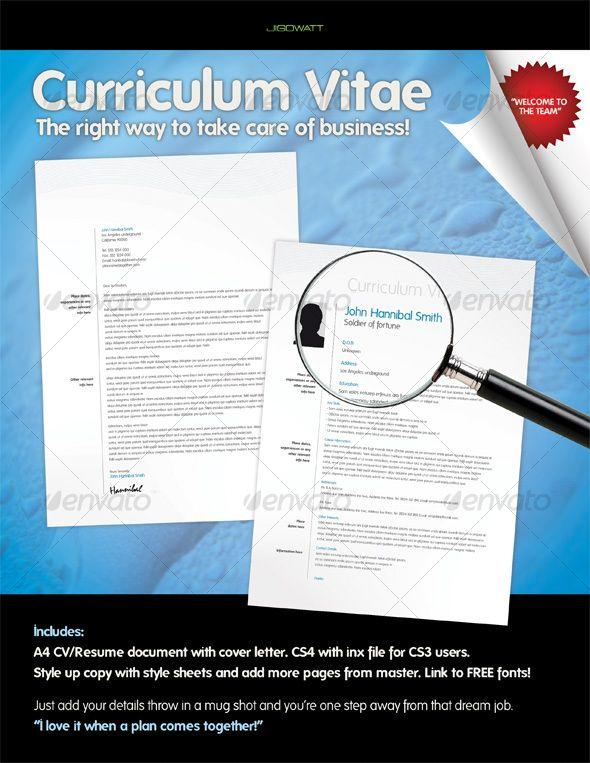 Curriculum Vitae Curriculum, Creative resume templates and Ai
