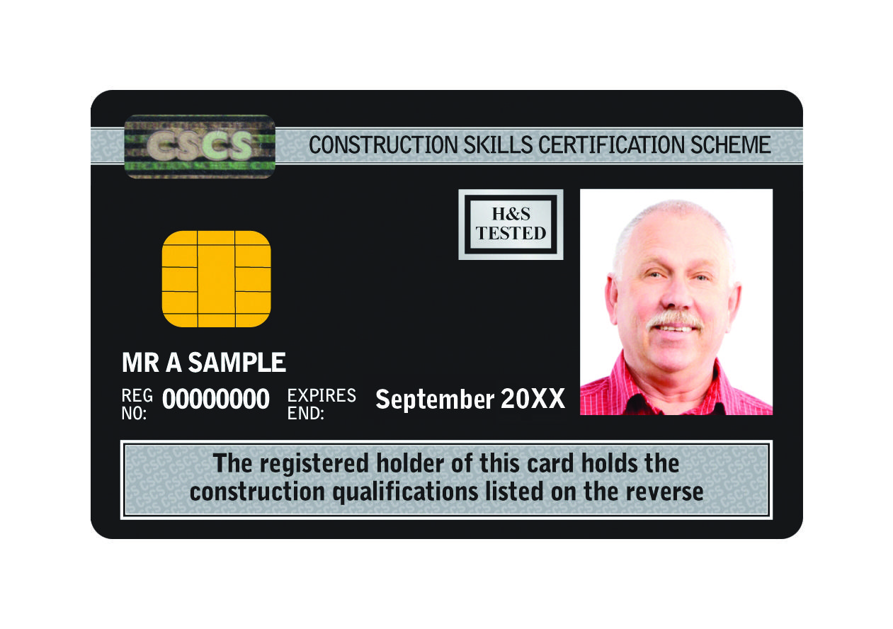 The Black Cscs Manager Card Is One Of The Highest Level 5 Cscs