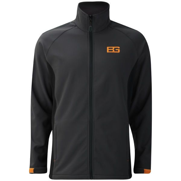 Craghoppers Men's Bear Grylls Softshell Jacket - Black Pepper