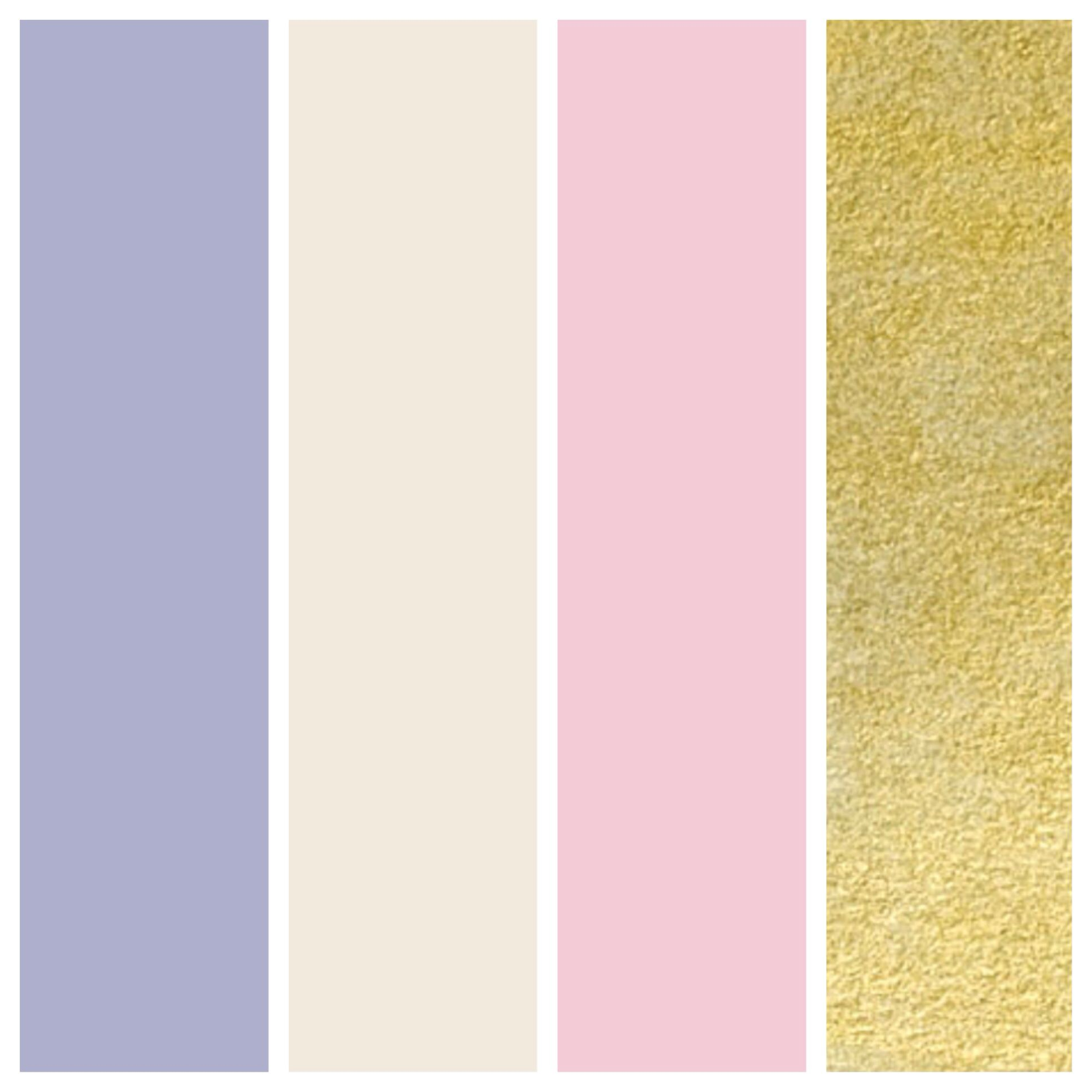 Wedding Color Palette Dusty Lilac Cream Tea Rose And Gold Yes