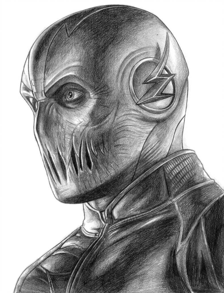 Zoom The Flash By Soulstryder210 Flash Drawing Zoom The Flash Marvel Drawings