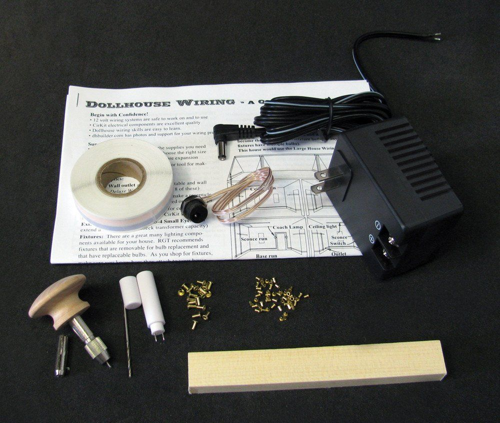 RGT\'s Best 1 Custom Dollhouse Electrical Kit | Drilling tools, Doll ...
