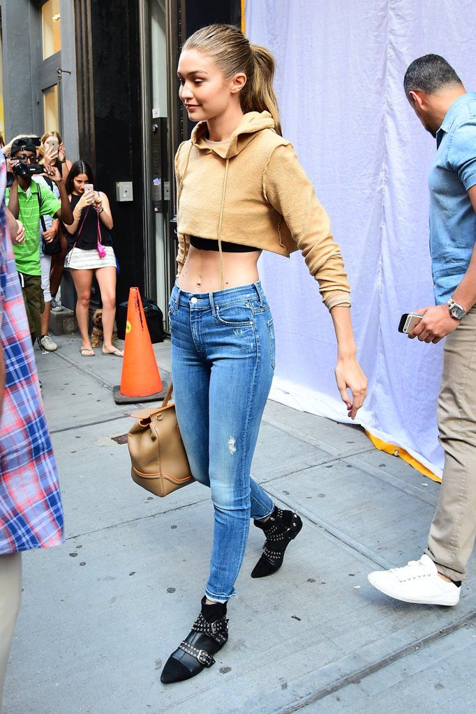 7b14399b3d Gigi Hadid Just Wore the Off-Duty Model Boot of the Summer