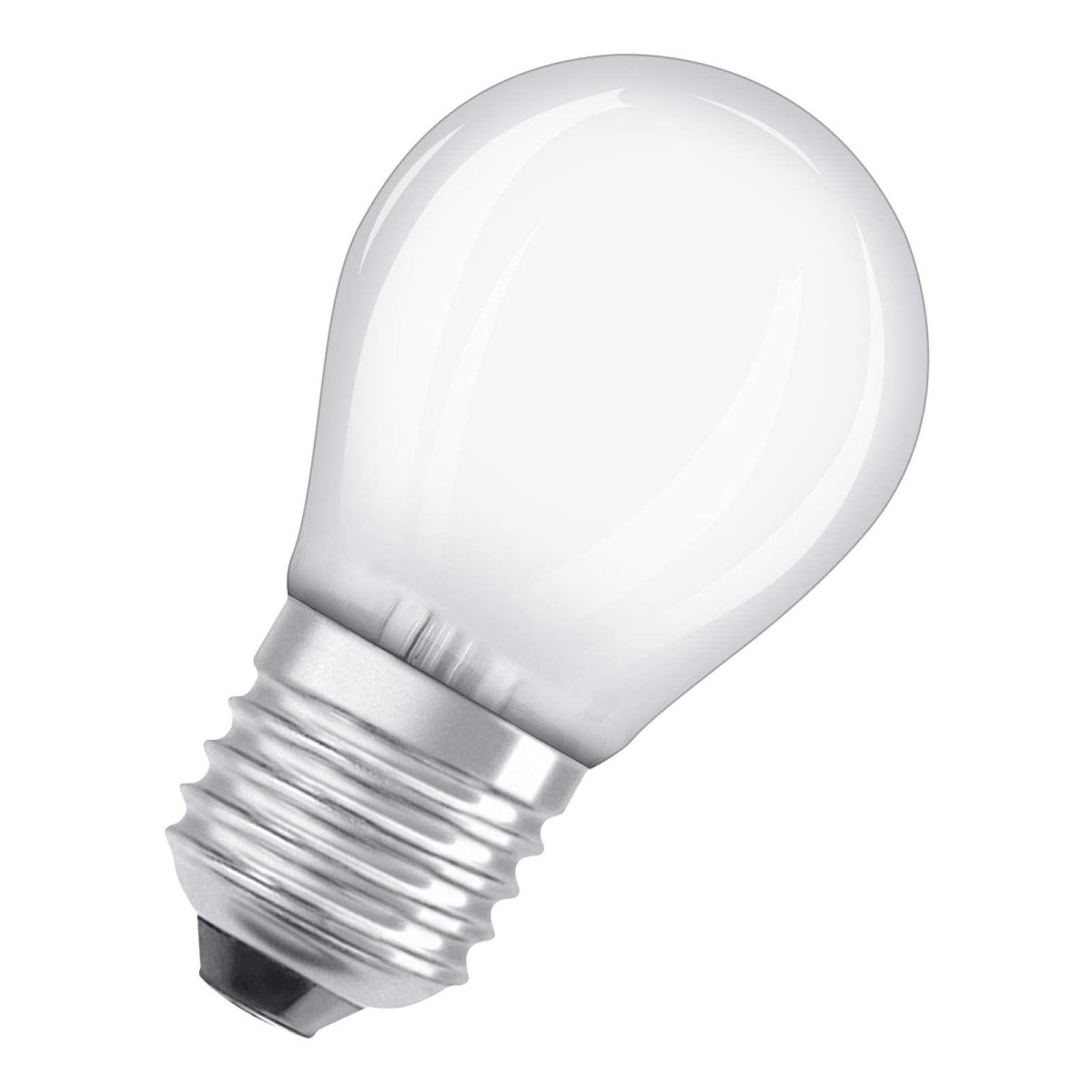 Osram Led Lampe E27 6w Classic P 2 700k Matt Led Lampe Led Und Osram