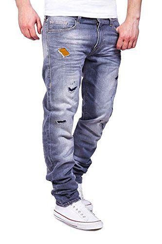 True Religion Jeans GENO Slim Ripped LGND Grau  W32   Amazon.de  Bekleidung d08f6e110e