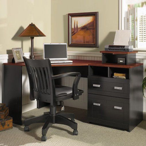 Have To Have It Bush Wheaton Corner Computer Desk 182 99