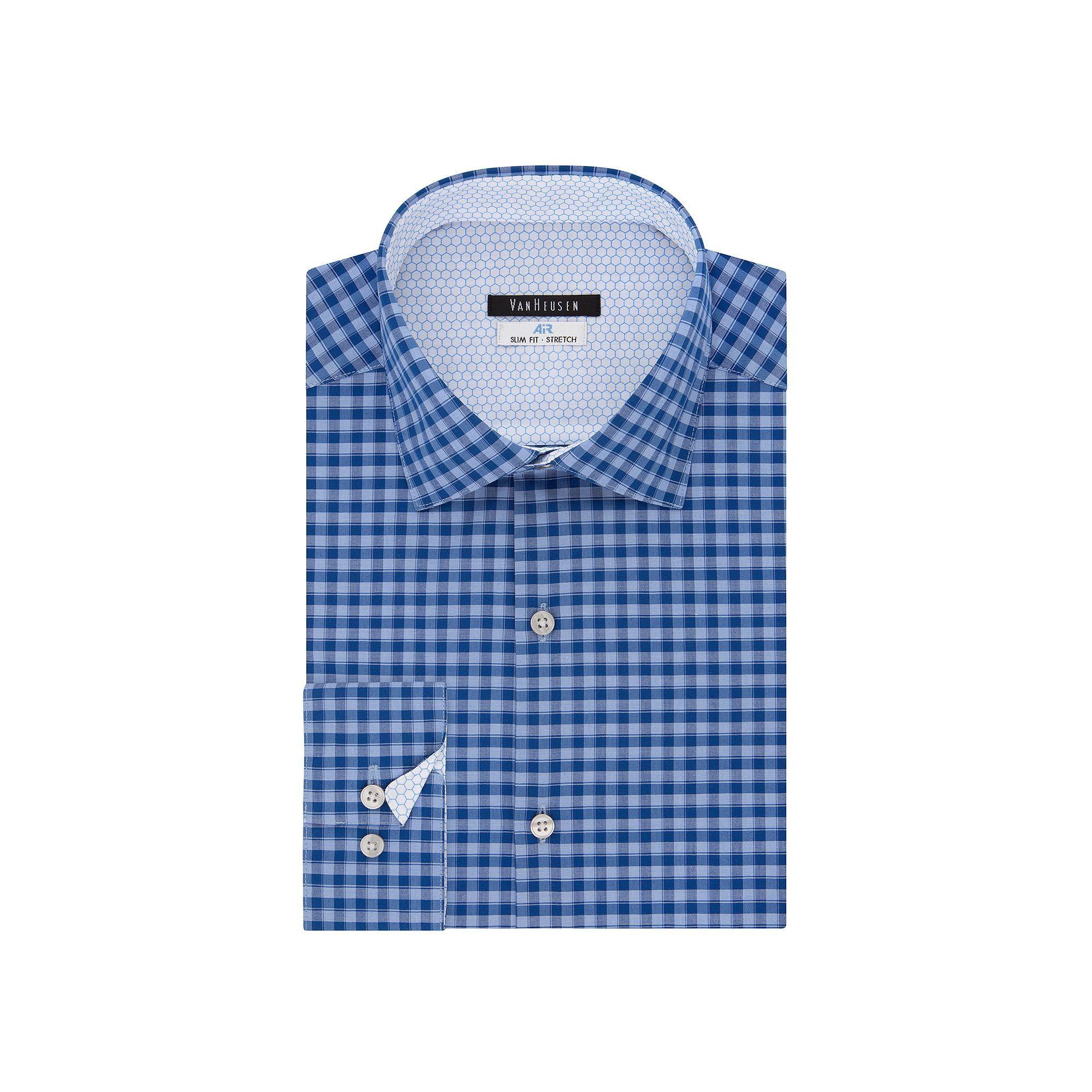 Men S Van Heusen Air Regular Fit Stretch Dress Shirt Shirt Dress Nice Dresses Fitted Dress Shirts