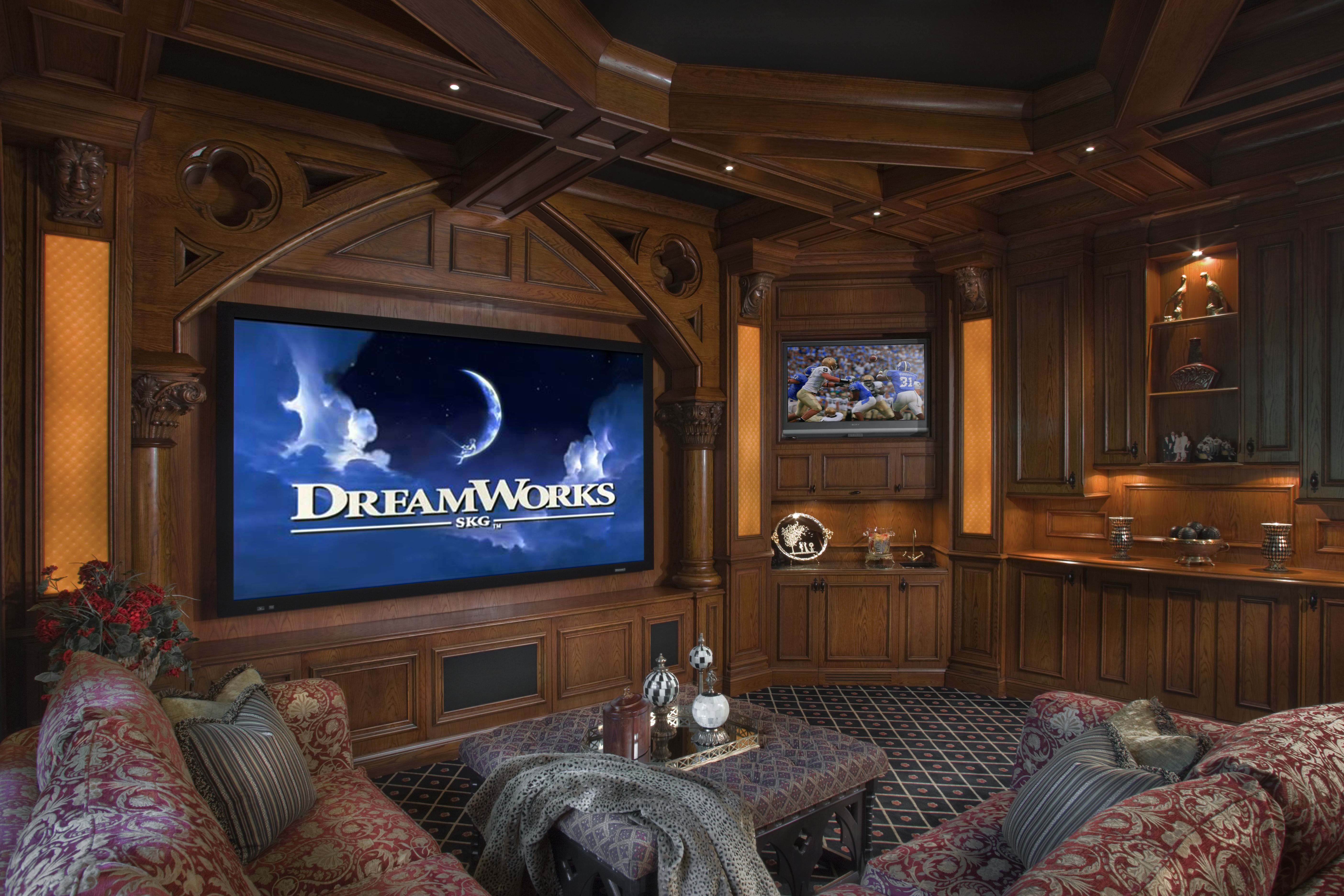 Amazing Home Theaters | Home theater rooms, Home theater ...