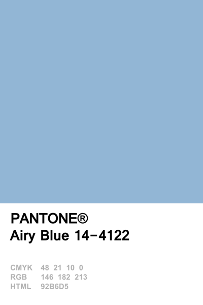 pantone 2016 airy blue airy blue pinterest farben wandfarbe und farbpalette. Black Bedroom Furniture Sets. Home Design Ideas