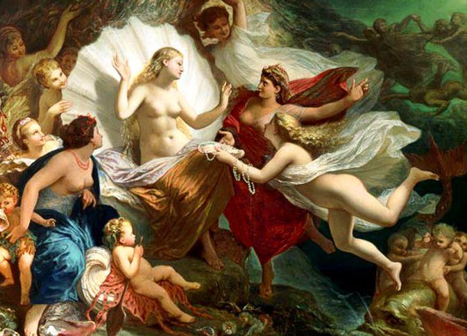 "PIERRE HENRI Picou: ""The birth of venus"""