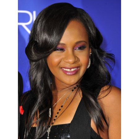 Bobbi Kristina Brown At Arrivals For Sparkle Premiere Canvas Art - (16 x 20)