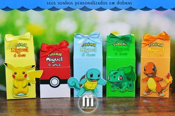 Caixa Milk Pokemon