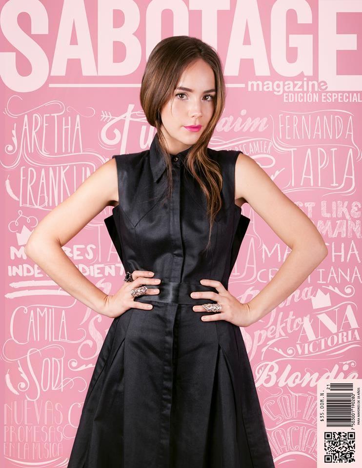 Portada de mes de octubre de Sabotage Magazine con Camila Sodi ...