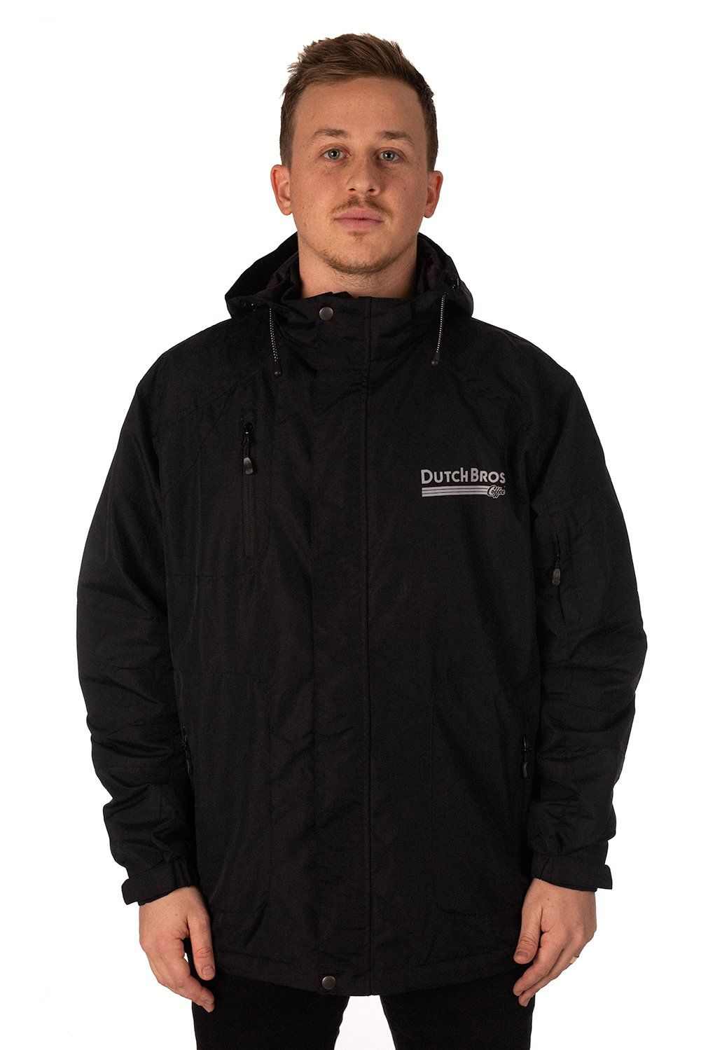 Dutch Bros Rain Jacket - Black #dutchbros
