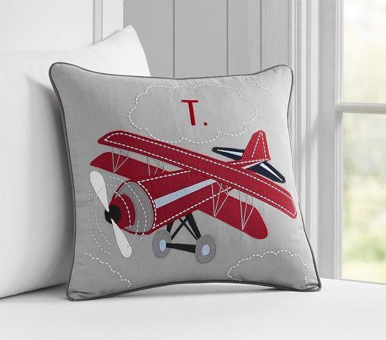 Braden Personalized Shams Quilt Bedding Decorative Pillow Shams Airplane Quilt